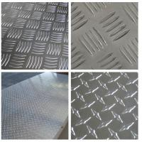 Buy cheap Embossed High Glossy Aluminium Checker Plate 12000mm Length For Interior Decorating from wholesalers