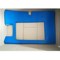 Buy cheap Large Blue Color Rectangle Custom Rubber Gaskets With 100% Rubber Material from wholesalers