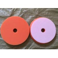 Buy cheap Sponge Foam Wool Buffing Pad , Automotive Buffing Pads With Center Hole from wholesalers