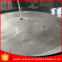 Buy cheap ASTM A128 B-4 Round Wear Parts 30mm Thick Impact Value ≥150J Sand Cast Process EB12024 product