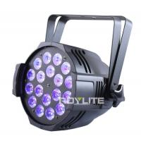 Buy cheap Show Pro LED Par Cans 18 x 12w UV Wash Flood 30° Lux High Brightness from wholesalers