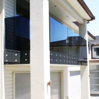 Buy cheap Prima polular special stainless steel glass railing design from wholesalers