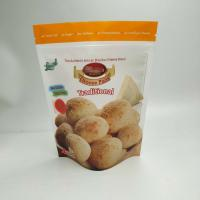 Buy cheap Healthy And Low Price Custom Printing Cheese Bread Cookies Food Packaging Bags With Zipper from wholesalers