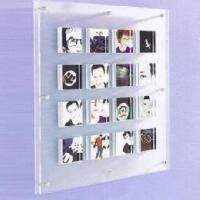Buy cheap 30''Wall Mounted Multiple Acrylic Photo Frames With 9 compartment product
