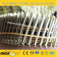 Buy cheap Wire Collated Ring Shank Galv Coil Nail from wholesalers