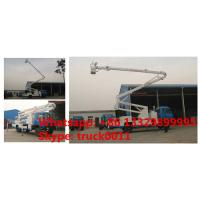 Buy cheap dongfeng RHD Truck Mounted Aerial Working Platform High Altitude Working Truck, dongfeng 18m-22m hydraulic bucket truck from wholesalers