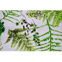 Fine Printed Cotton Canvas / Twill Cotton Fabric For Garment 130 X 70