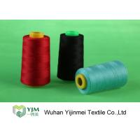Buy cheap Dyed 100 Spun Polyester Sewing Thread With Plastic / Paper Cone Wear Comfortable from wholesalers