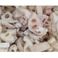 Buy cheap Fresh Lotus Root Organic Frozen Food Products NO Preservatives Added For Adult from wholesalers