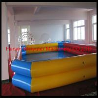 Buy cheap double tube inflatable pool/deep inflatable swimming pool from wholesalers
