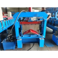 Buy cheap 8m/Min Colour Steel Coil 3kw Ridge Cap Roll Forming Machine from wholesalers