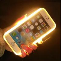 Buy cheap LED Light Up Selfie Phone Case , Illuminated Iphone Case For  IPhone 6 / 6 S Plus from wholesalers