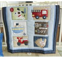 Buy cheap 100% cotton children ,baby quilt /bumper/fitted sheet- 3pcs bedding set  for cotbed from wholesalers