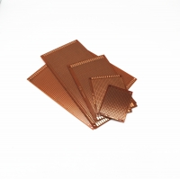 Buy cheap Brown Glass Fibre Prototype PCB Board , Copper Single Sided PCB Board from wholesalers