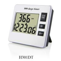 Buy cheap Digital thermometers H301DT, 9 numbers with day, hour, minute, second, 3 control buttons product