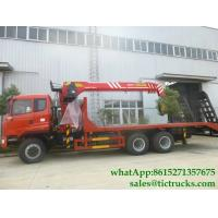 Buy cheap Custermizing Truck loading crane  6x4 10 12 14 16tons Palfinger Telescopic boom sale price  WhatsApp:8615271357675 from wholesalers