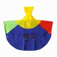 Buy cheap Promotional Children's Raincoat/Rainwear, Customized Logos are Welcome product