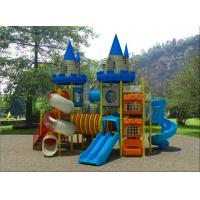 Buy cheap Fashion Customized Design Plastic Outdoor Playground Hot Sale Castle Theme Outdoor Playground For Preschool from wholesalers