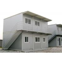 Buy cheap Sandwich Panel Two Storey Hot Sale Conex Box Homes As Office from wholesalers