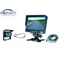 Buy cheap 7 inch Car Rear View Monitor with Car rearview camera for Van, Truck, Bus from wholesalers