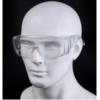 Buy cheap Anti-Fog Protective Safety glasses Clear Lens Wide-Vision Adjustable Chemical Splash Eye Protective Soft Lightweight from wholesalers
