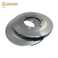 Buy cheap 260*122*1.5mm tungsten carbide slitting knives for cutting corrugated paper paperboard mills from wholesalers
