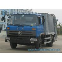 Buy cheap 2 axle Dongfeng Compression Garbage Trucks Double Row 190hp from wholesalers