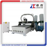 Buy cheap Chinese hot sale Jinan Wood Carving CNC Router with original NcStudio ZKM-1325A product