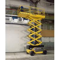 Buy cheap Self - elevating scissor lift platform 6m 300kg Maneuverable with battery powered from wholesalers