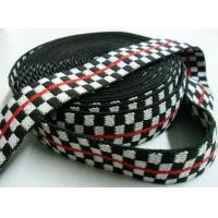 Buy cheap Cotton webbing, Jacquard cotton webbing from wholesalers