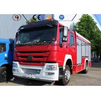 Buy cheap Professional Water Tank Fire Fighting Vehicle Rescue Fire Engine Truck for Sale from wholesalers