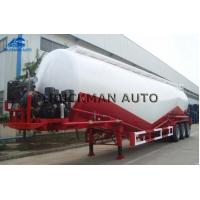 China 35m3 - 55m3 Tank Body Cement Tanker Trailer With The Weichai Brand Engine on sale