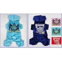 Buy cheap Custom Light Blue Dog Clothes Juicy Velour Black Hoodie with Tie Strings for Maltese from wholesalers