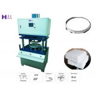 Buy cheap Square Cardboard Bottom Cake Tray Forming Machine 10 Pcs / Minute 0.05KW product