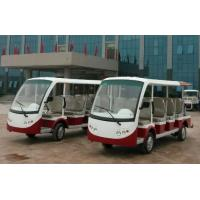 Buy cheap Fourteen Passengers 4.2 KW Electric Shuttle Bus , Trojan Battery Street Legal Electric Cart from wholesalers