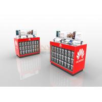 Buy cheap Red LED Custom Floor Retail POP Displays With Silk Screen Printing from wholesalers