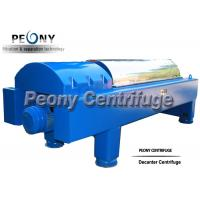 Buy cheap Large Capacity Decanter Centrifuges Horizontal Continuous Separation Centrifuge product