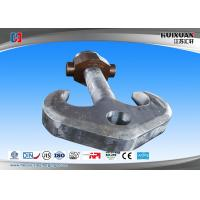 Buy cheap Heavy Duty Crane Lifting Hooks DG20Mn Carbon Steel Industrial Forging from wholesalers