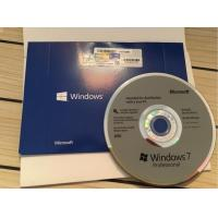 China Win 7 Professional Microsoft Windows Activation Key 32 / 64 Bit DVD Program on sale