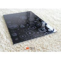 Buy cheap Geometrical Figure Painted 4 x 8 3D MDF Board Melamine Particle Boards from wholesalers