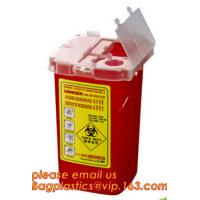 Buy cheap Professional Certification Medical Cardboard Collect Disposal Sharp Containers For Sale, Disposable Medical Sharp Contai from wholesalers