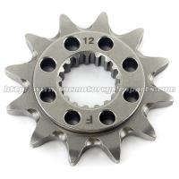 Buy cheap 20 MN Steel Front Dirt Bike Chain Sprocket With Closet Tolerance And Best Teeth Profile from wholesalers