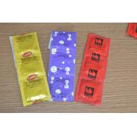 Buy cheap Customized Lubricated Latex Condoms With Plain / Dotted / Ribbed Style product