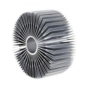 Buy cheap 6000 Series Sun Flower Aluminum Radiator Aluminum Extruded Heat Sink Profiles product