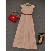 Buy cheap Ladies pink long maxi dress,casual dress, fashion cocktail dress for women from wholesalers