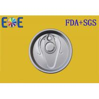Buy cheap 211# EOE Tin Can Lids 65mm Metal Container Easy Open Door For Plastic Can from wholesalers