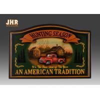 Buy cheap Antique Wall Pub Sign Wooden Wall Plaques Decorative Animal Wall Art Signs Resin Car from wholesalers