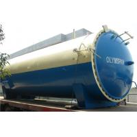 Hydraulic Pressure Safety : Industrial vulcanizing autoclave with upside opening door