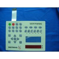 Buy cheap Custom Made Matte PC Keyboard Membrane Switch PVC For Medical Instruments from wholesalers