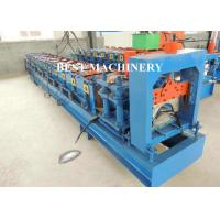 Buy cheap Metal Roof Ridge Cap Roll Forming Machine / Corrugated Roof Sheet from wholesalers